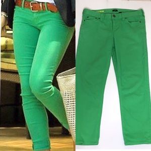 J. Crew Factory Matchstick Cropped Jeans